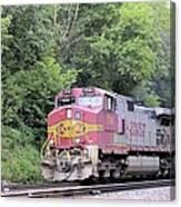 Bnsf Train Canvas Print
