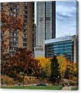 Bny Mellon From Duquesne University Campus Hdr Canvas Print