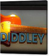 Bo Diddley's Guitar Canvas Print