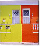 Bo Kaap House Canvas Print