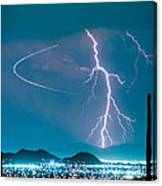 Bo Trek The Lightning Man Canvas Print