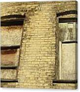 Boarded Windows 2 Canvas Print