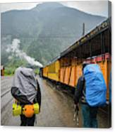 Boarding The Durango Silverton Narrow Canvas Print
