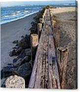 Boardwalk - Charleston Sc Canvas Print