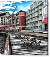 Boardwalk Early Morning Canvas Print