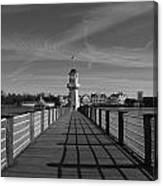 Boardwalk Lighthouse 1 Canvas Print