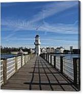 Boardwalk Lighthouse Canvas Print