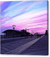 Boardwalk Stroll  Canvas Print