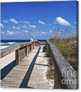 Boardwalk To Paradise Canvas Print