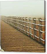 Boardwalk To The Unknown Canvas Print