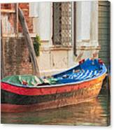 Boat At Rest Canvas Print