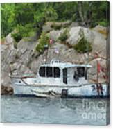 Boat Break Canvas Print