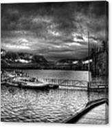 Boat Dock At Sperry Chalet 2 Canvas Print