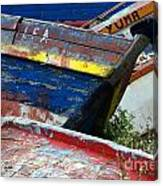 Boat Graveyard Peurto Natales Chile 7 Canvas Print