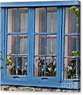 Boat House Windows Canvas Print