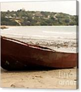 Boat On Shore 02 Canvas Print