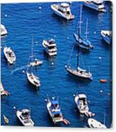 Boat Parking Canvas Print