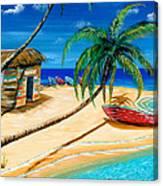 Boat Rent Canvas Print