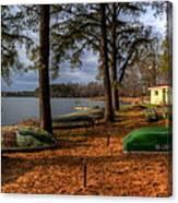 Boat Rentals Canvas Print