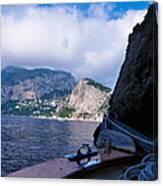 Boat Ride To Capri Canvas Print