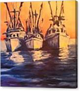 Boat Series 1 Second Edition Canvas Print