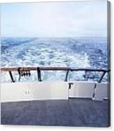 Boat Stern Canvas Print