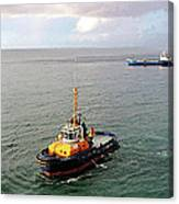 Boat - Tugboat Barbados II Canvas Print
