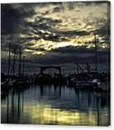 Boat Yard Canvas Print