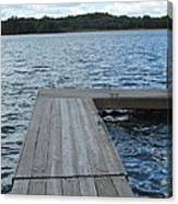 Boatdock-right Canvas Print