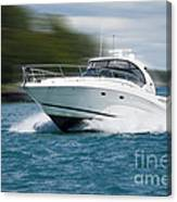 Boating 01 Canvas Print