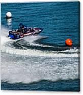 Boatnik Races 1 Canvas Print