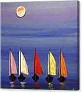 Boats 3  Canvas Print