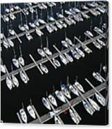 Boats At Nepean Sailing Club Canvas Print