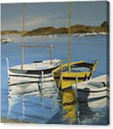 boats of Cadaques Canvas Print