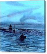 Boats On The Chesapeake Bay Canvas Print