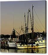 Boats Pano Canvas Print