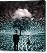 Bob Dylan A Hard Rain's A-gonna Fall Canvas Print