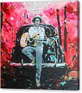 Bob Dylan - Crossroads Canvas Print