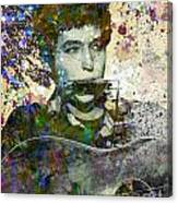Bob Dylan Original Painting Print Canvas Print