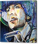 Bob Dylan Tangled Up In Blue Canvas Print