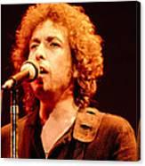 Bob Dylan '79 Canvas Print