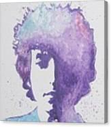 Bob Dylan Canvas Print