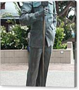 Bob Hope Memorial Statue Canvas Print
