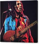 Bob Marley 2 Canvas Print