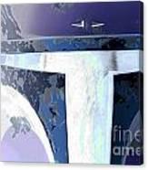 Boba Fett Helmet 10 Canvas Print