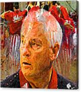Bobby Knight Indiana Legend Canvas Print