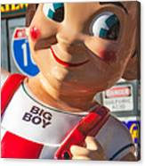 Bob's Big Boy Canvas Print