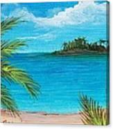 Boca Chica Beach Canvas Print