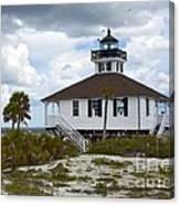 Boca Grande Lighthouse II Canvas Print
