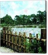 Boca Morikami Gardens Canvas Print